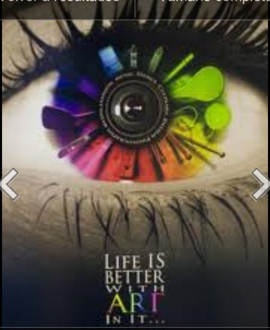 Open your eyes, Life is better with art