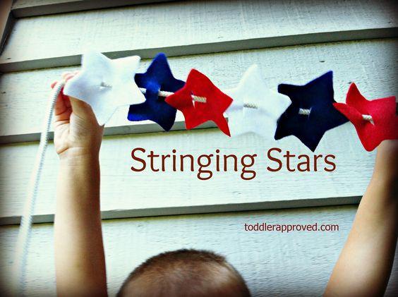Stringing Stars
