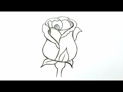 رسم بالرصاص رسم وردة سهلة وجميلة للمبتدئين رسم سهل كراسات رسم تعليم الرسم Youtube In 2021 Cool Drawings Drawings Cool Stuff
