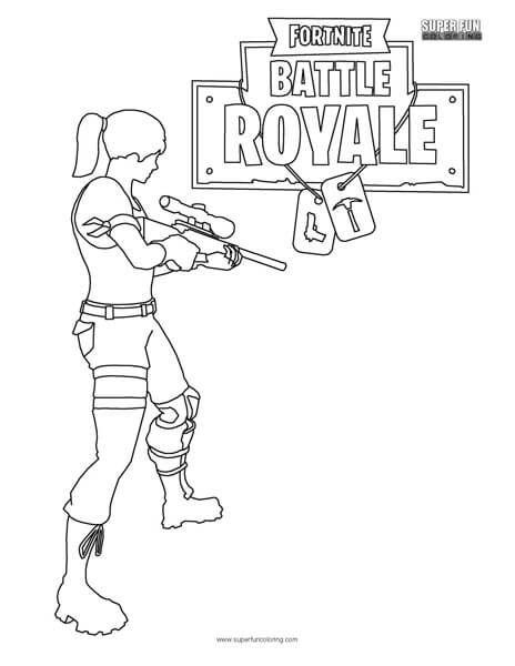 Fortnite Battle Royale Con Imagenes Paginas Para Colorear Para