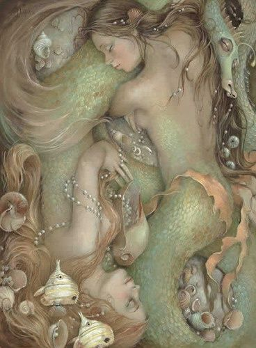 ♥ Sleeping with Mermaids by Christina P.Wyatt website at http://www.cpwyatt.com/index.php: