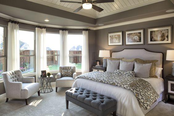 Pure elegance! #master #bedroom