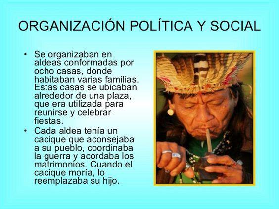 Cultura Guaraní: Organización política y Social