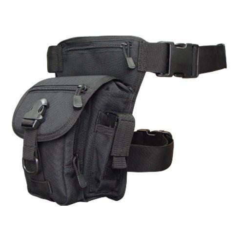 Men/'s Military Camouflage Drop Leg Bag Panel Utility Waist Belt Pouch Pack Newly