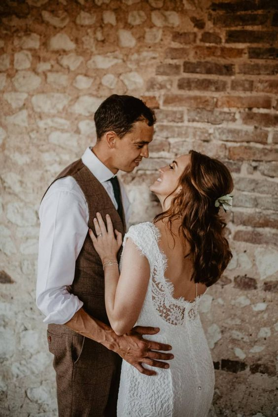 Rose Gold Sequin Bridesmaid Dresses & Tuscan Vibes at Pentney Abbey
