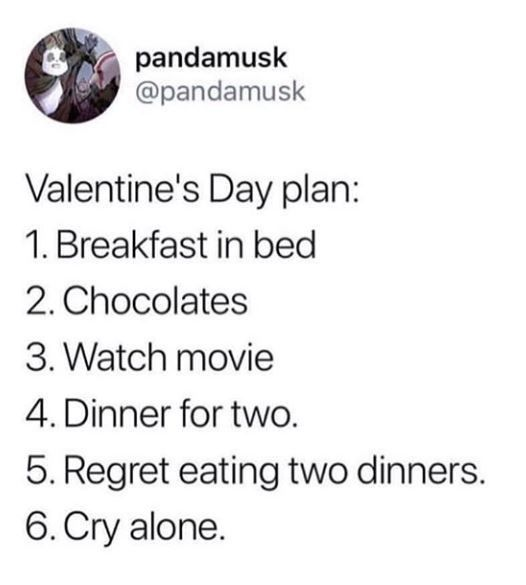 17 Anti Valentine S Day Memes For The Salty Singles Valentines Quotes Funny Funny Valentines Day Quotes Valentines Quotes Funny Single
