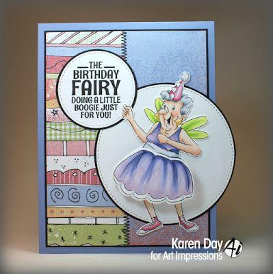Birthday Fairy Shaker