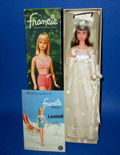 Bride Francie From The Collection Of Leslie Bote Barbie