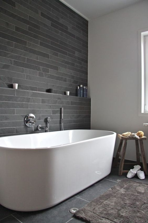 Bathroom Ideas Black And Grey Salle De Bain Grise Salle De
