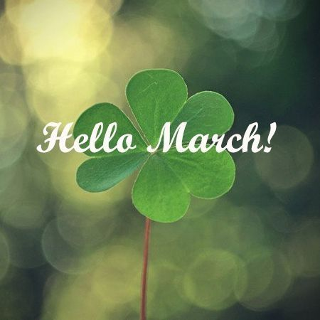 Oh hello march. Today we get to experience all 4 seasons in one day! But it will be a good day :)