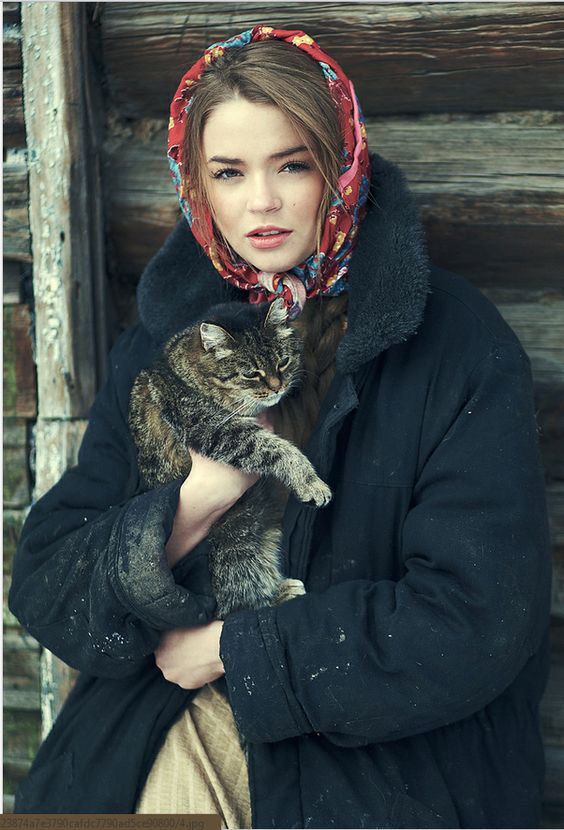 Style Inspiration Russian Beauties 99