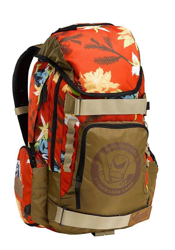 BURTON HCSC 2014 Backpack hawaiian #planetsports