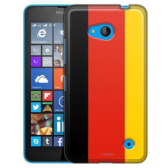 Nokia Lumia 640 German Flag Slim Case