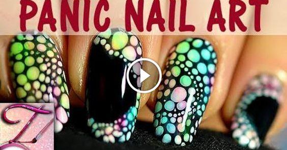 Rieccomi qui come promesso con un altro video tutorial delle unghie questa volta un effetto panico pieno di bolle multicolori, una meraviglia e per