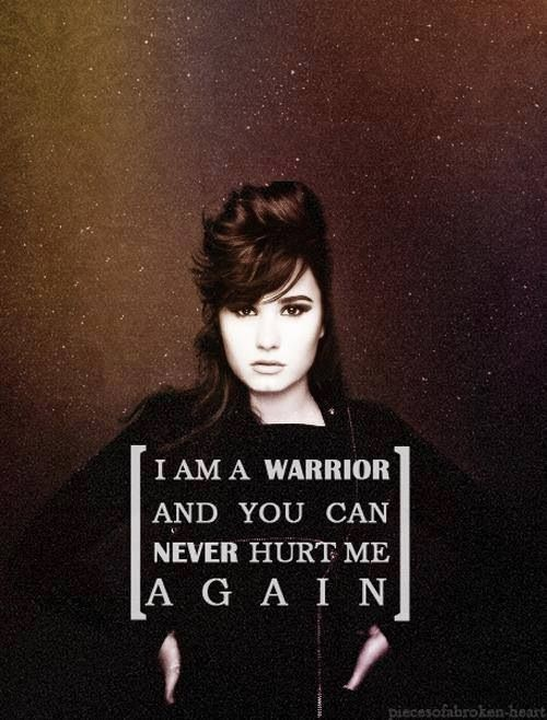 demi lovato warrior lyrics - photo #3