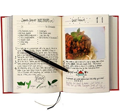 My Family Cookbook Recipe Notebook