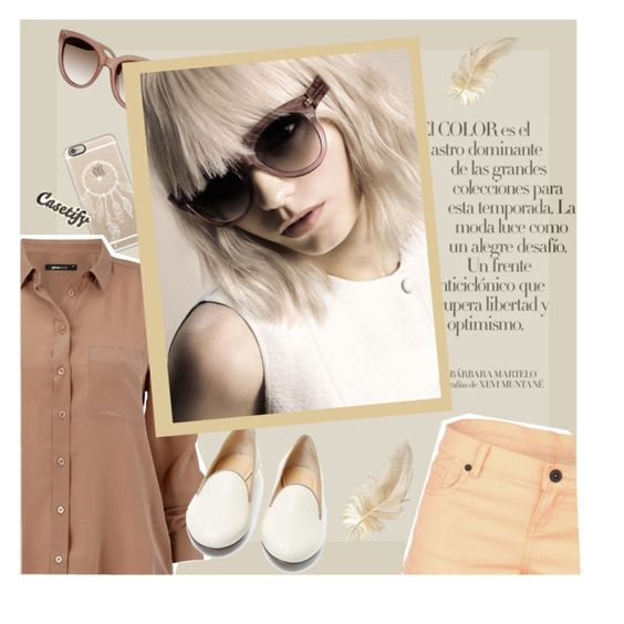 """brownish"" by soyance ❤ liked on Polyvore"