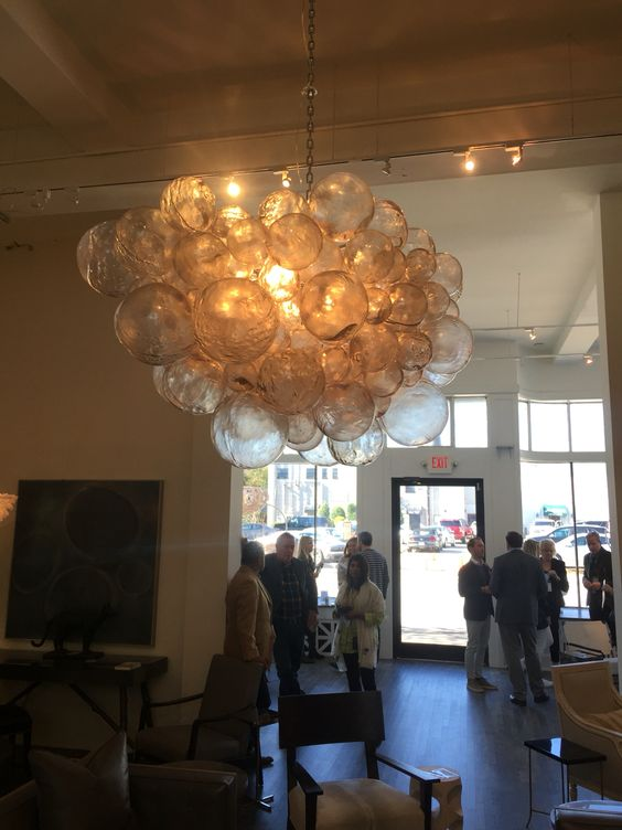 Breakfast chandelier