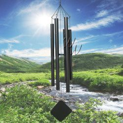 """Music Of The Spheres 90"""" Wind Chime - Aquarian Bass #MadeintheUSA #handtuned #soprano #whimsicalwinds #windchime #exlusive  Shop for your perfect wind chime today at whimsicalwinds.com"""
