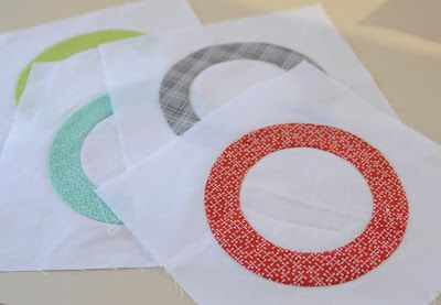 Wow, I have never seen this technique for sewing perfect circles before...can't wait to try! Easy Circle Quilt Blocks - on HGTV http://www.hgtv.com/video/easy-circle-quilt-blocks-video/index.html