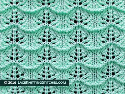 Beginner Lace Knitting Patterns : Popular lace knitting pattern - 23 - . Great pattern for beginner. knitting...
