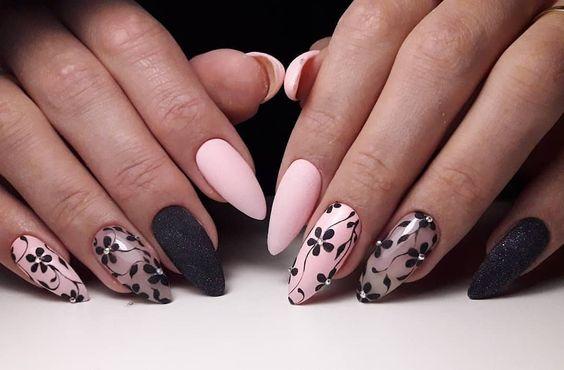 😍🌺 #manicure #nails #nailart #naildesign #design #nail #easy #gelnails #маникюр #дизайнногтей #дизайн #ногти #красивыеногти #ногтилук…