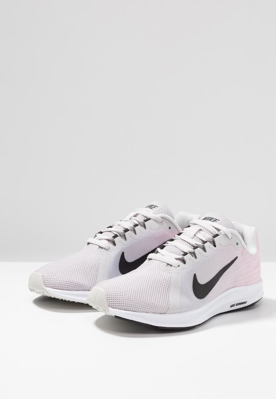 Nike Performance Downshifter 8 Obuwie Do Biegania Treningowe Vast Grey Black Pink Foam White Zalando Pl Sneakers Nike Nike Shoes