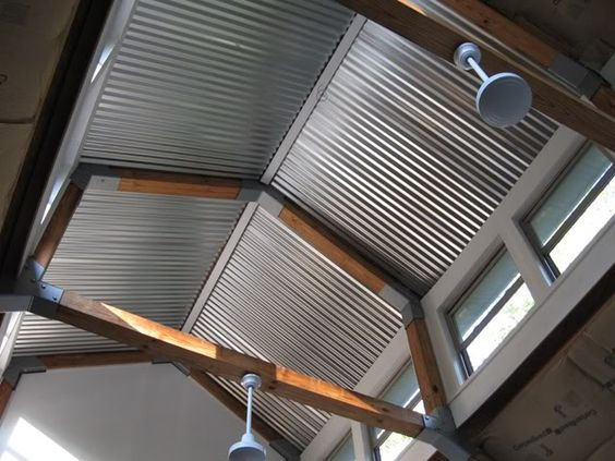 Old Barn Tin Ceiling My New Garage Build Page 8 The
