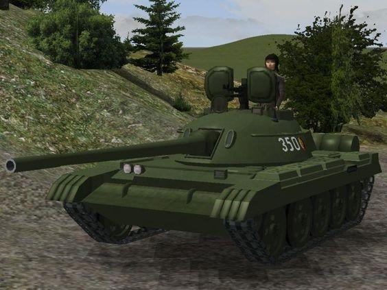 Panzer T55a. Ab #EEP10 http://bit.ly/Panzer-T55a