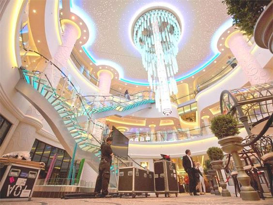 Interior of Norwegian Cruise Line's new ship - May 9, 2013 | The ...