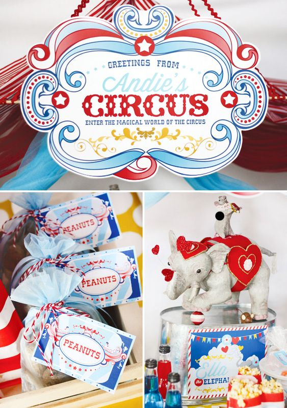 {Magical & Nostalgic} Circus Birthday Party