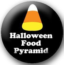 Halloween Food Pyramid ....