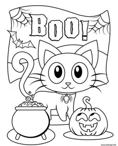 Coloriage En Ligne Halloween.20 Coloriages D Halloween A Imprimer Le Carnet D Emma Dessin Halloween A Imprimer Coloriage Halloween A Imprimer Coloriage Halloween