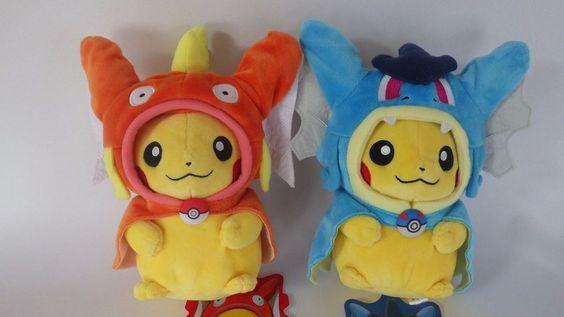 F/S Whole Sale Auction Pokemon Center Gyarados & Koiking set Plush Stuffed Toy #PokemonCenter
