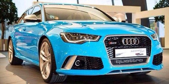 Beaitiful colour on this Audi