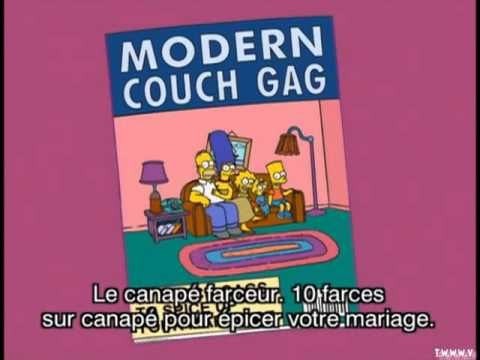 Simpson Couch Gag S19
