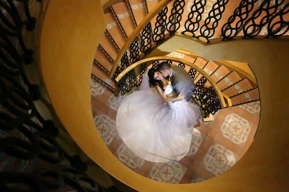 """Share a little bit of love beyond your """"I Do's"""" and treat yourself to a picture perfect wedding with Carnival. Fall in love a little more at…  http://www.carnival.com/wedding-cruises/shipboard-weddings.aspx?cid=So_PI_NA_O_WeddingLegendStairwell_403&DMP=5009,6063,7001,,8010"""