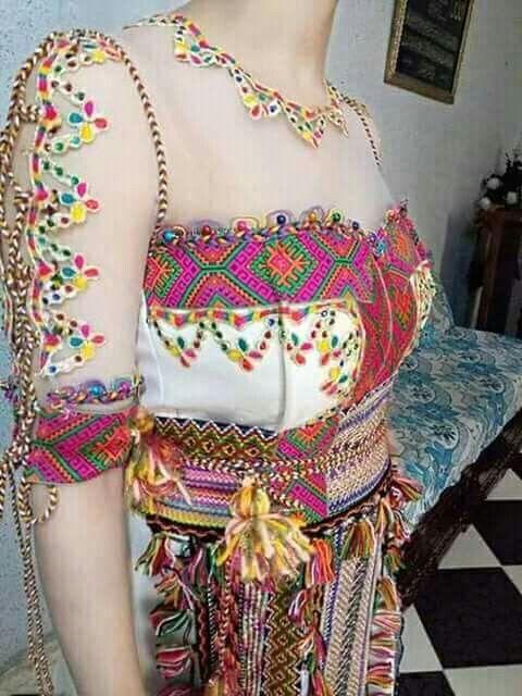 Robe kabyle 2019 gargari , elkhadra