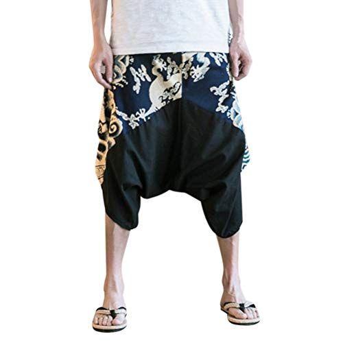 Pantalon pour Hommes Coton Guru-Boutique Pantalon Goa Pantalon de Yoga
