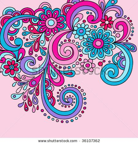 Clip Art Paisley Clip Art paisley clip art psychedelic groovy abstract swirls vector stock vector