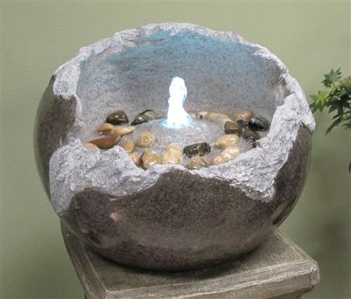 13 Fractured Stone Fountain modern