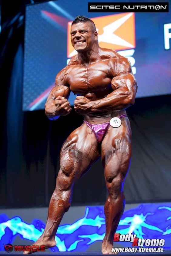 Jose Raul Sanchez Reyes 2015 IFBB Prague Pro