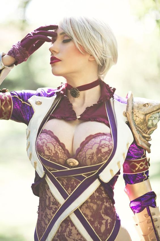 Ivy from Soul Calibur