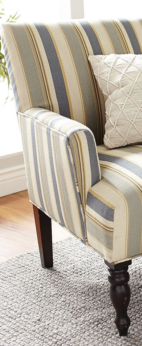 Coastal Design | Striped Chair