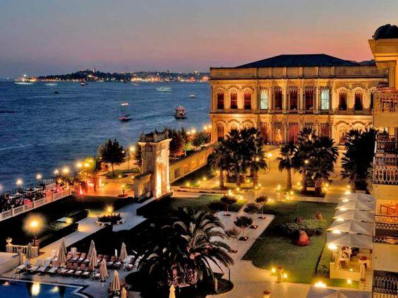 Ciragan Palace Kempinksi, Istanbul, Turkey.
