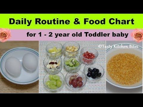 Daily Routine Food Chart For 1 2 Year Old Toddler Baby L Complete Diet Plan Baby Food Recipes Youtube Baby Food Recipes Food Charts Healthy Baby Food