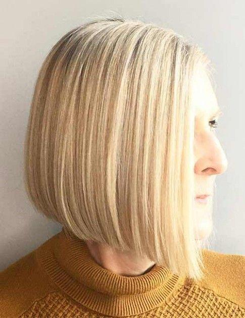 Short Sleek Womens Hairstyle Dan Word In 2020 Older Women Hairstyles Womens Hairstyles Long Hair Styles