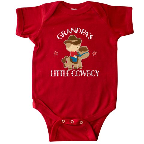 inktastic Grandma Little Cowgirl Baby Clothes Baby T-Shirt