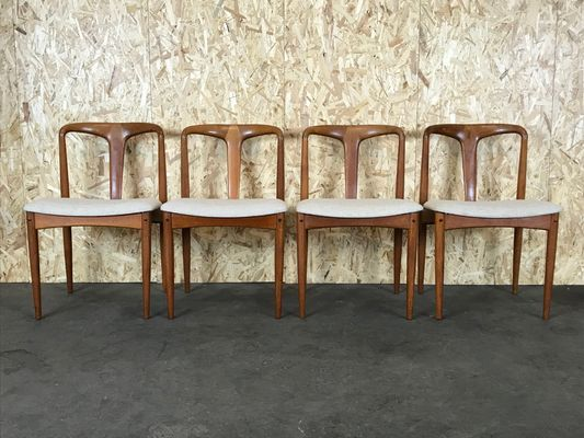 Vintage Teak Dining Chairs By Johannes Andersen For Uldum