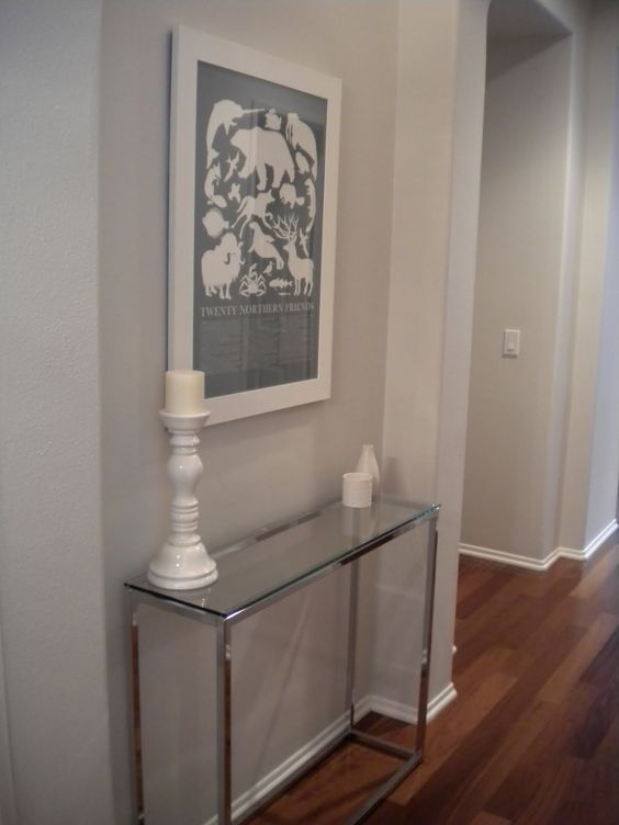 Cb2 Smart Glass Console Table 199 Entryway Pinterest